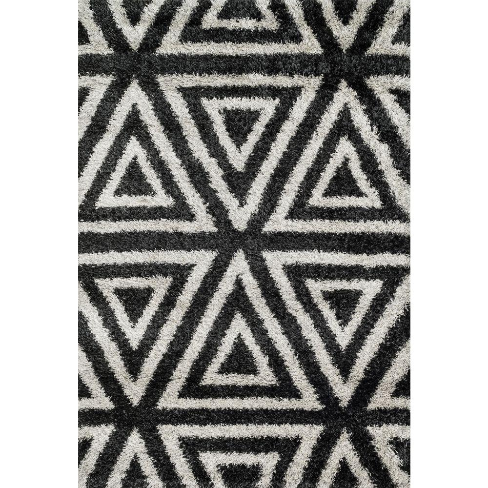 Loloi Rugs Cosma Lifestyle Collection Charcoal/Ivory 3 ft. 9 in. x 5 ft. 6 in. Area Rug