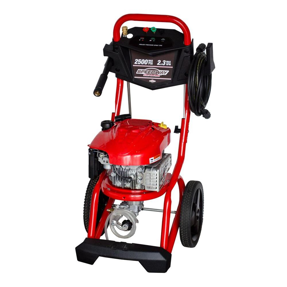 SPEEDWAY Reconditioned 2500-PSI 2.3-GPM Gas Pressure Washer