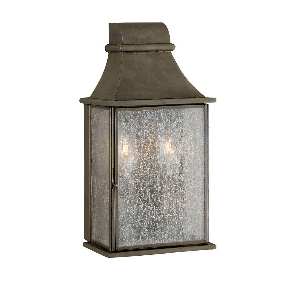 World Imports Dark Sky Revere Collection 2-Light Flemish Outdoor Wall-Mount
