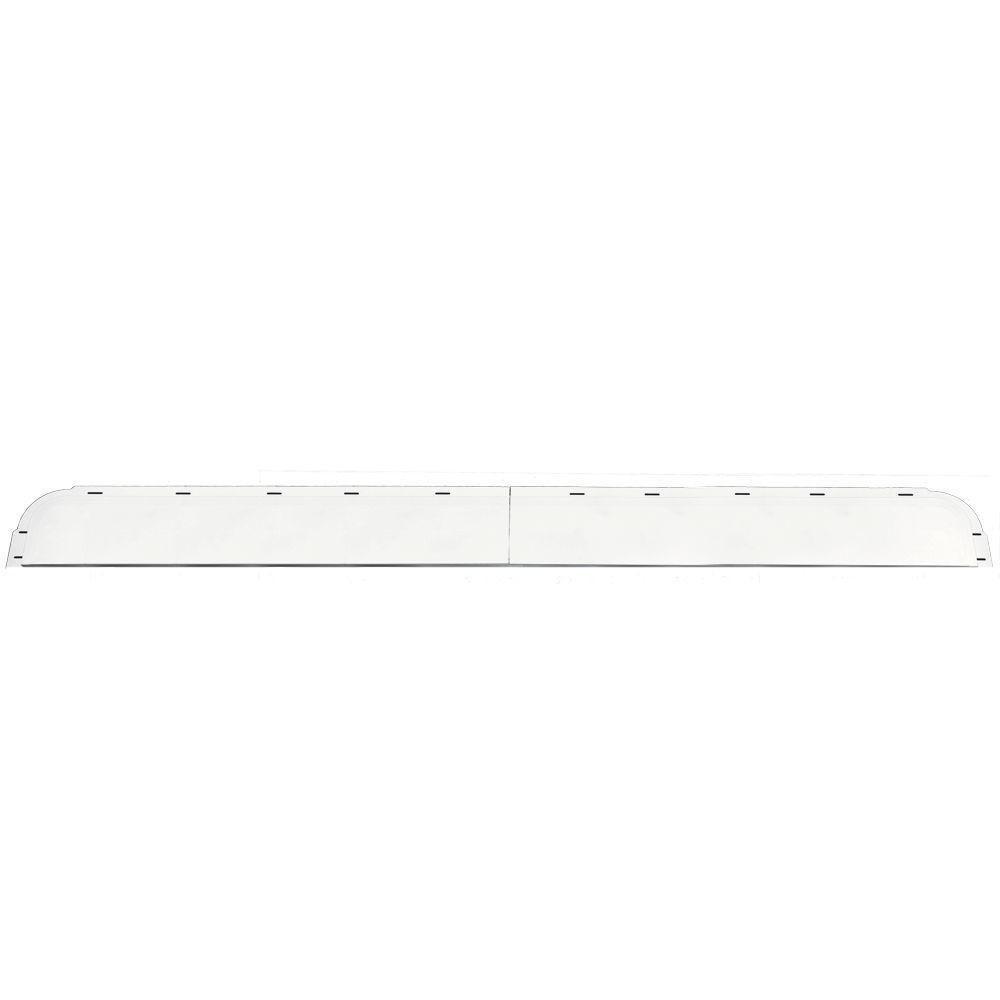 6 in. x 65 5/8 in. J-Channel Back-Plate for Window Header