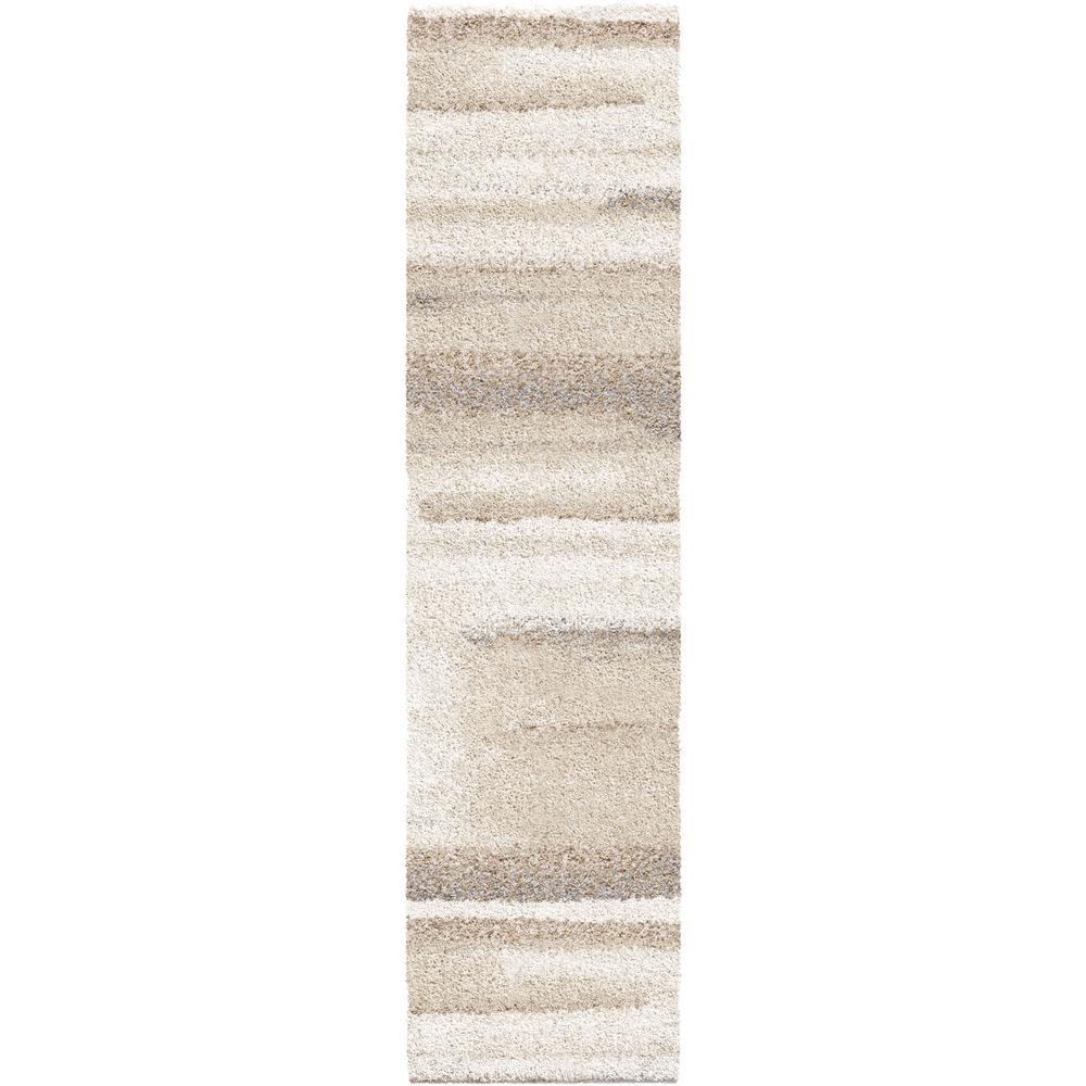 Orian Rugs Modern Motion Beige 2 ft. x 8 ft. Runner Rug