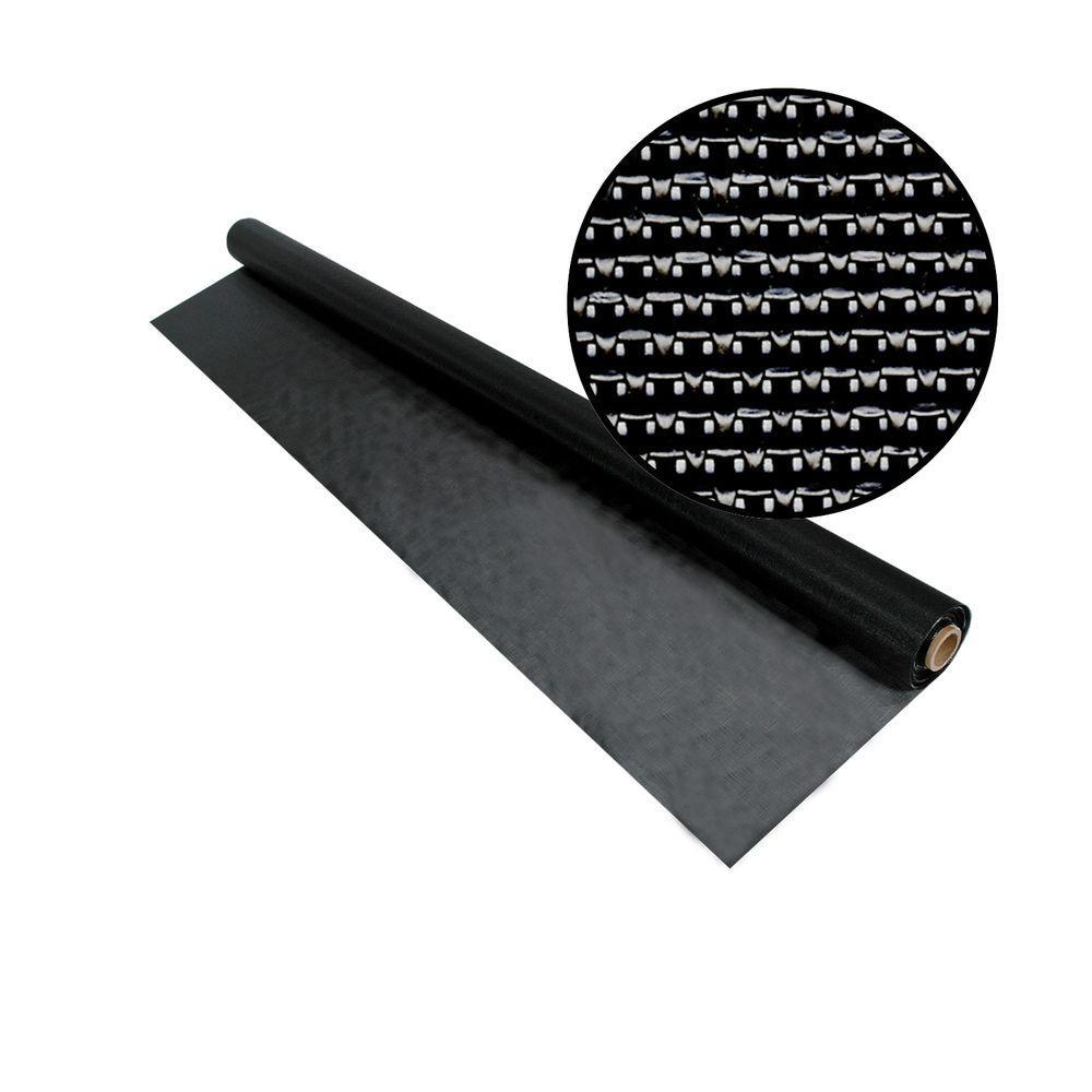 Phifer 48 in. x 84 in. Black SunTex 90