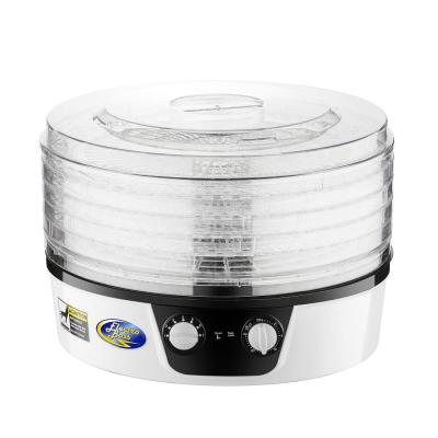 5-Tray White Food Dehydrator with Adjustable Thermostat