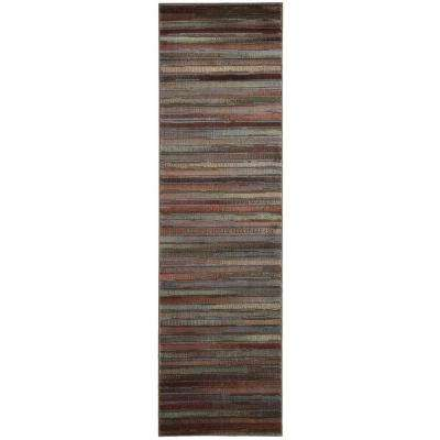 Expressions Multicolor 2 ft. x 6 ft. Runner Rug