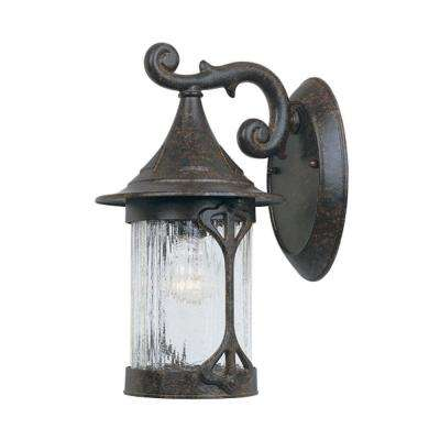 Mill Creek Chestnut Outdoor Wall-Mount Lantern