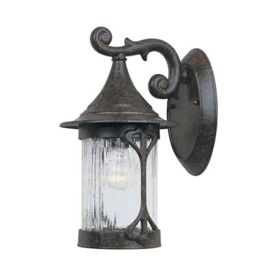 Canyon Lake Chestnut Outdoor Wall-Mount Lantern Sconce