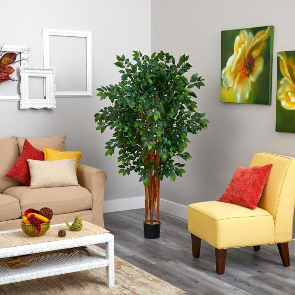 5 ft. Sakaki Artificial Tree with 1470-Bendable Branches
