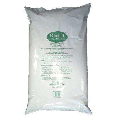 Bag, 8 Gallon, Compost Mulch For Composting Toilets