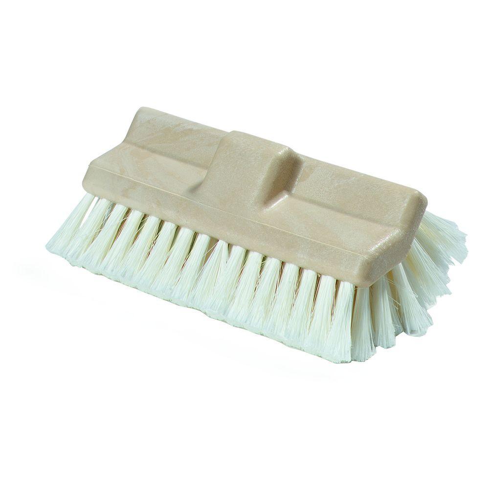 10 in. Polystyrene Bristles Dual Surface Vehicle Brush (12-Case)
