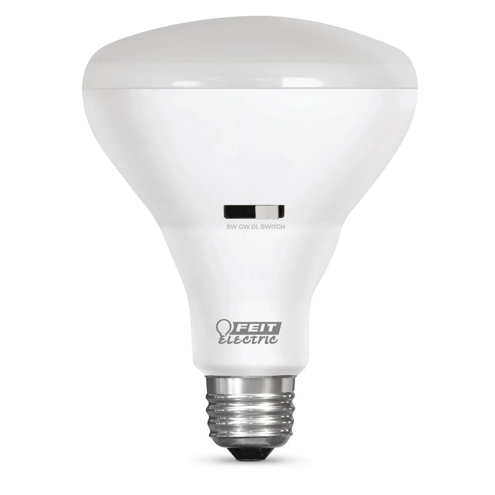 60W Equivalent Soft White/Cool White/Daylight BR30 IntelliBulb ColorChoice LED