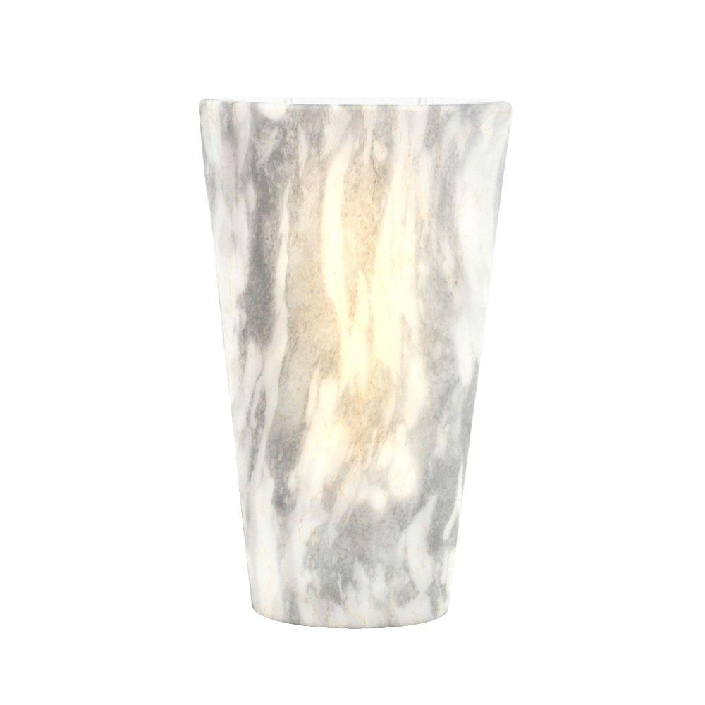 It S Exciting Lighting Series Stone Indoor Outdoor Led High Gloss Battery Operated Sconce