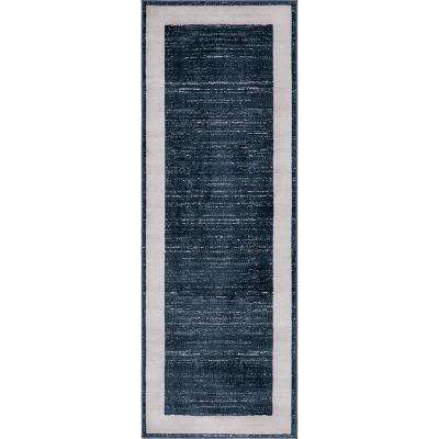 Uptown Collection by Jill Zarin™ Yorkville Navy Blue 2' 2 x 6' 0 Runner Rug