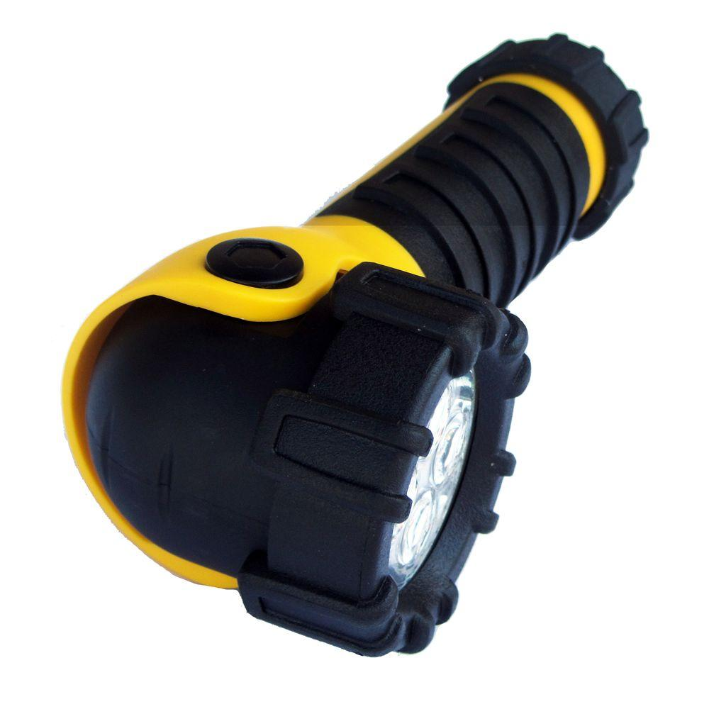 Dorcy Weather Resistant Swivel Head Magnet LED Flashlight