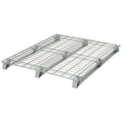 40 in. x 48 in. x 4 in. Galvanized Steel Welded Wire Pallet