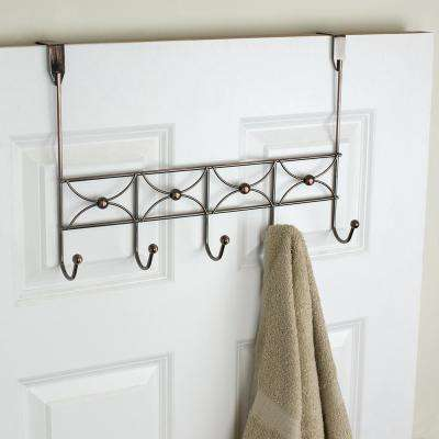 16.5 in. Oil Rubbed Bronze Hanging Rack
