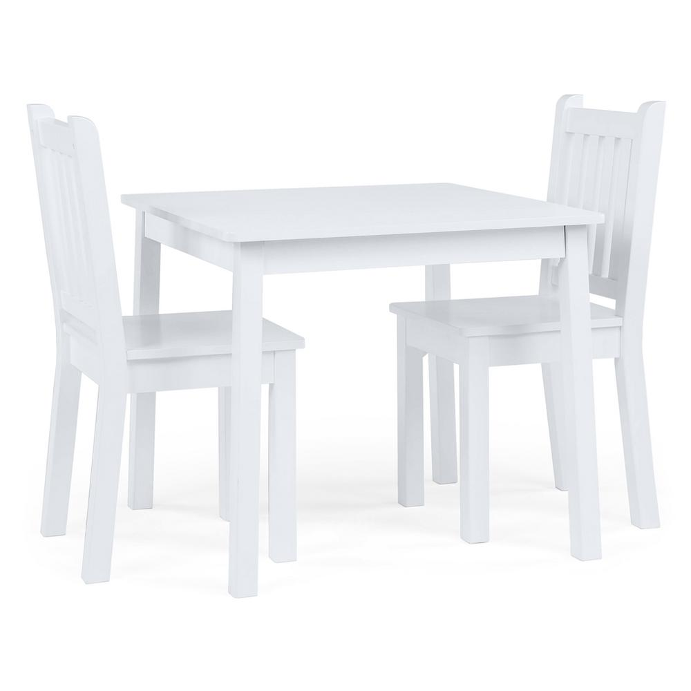 Daylight 3-Piece Off-White Kids Table and Chair Set