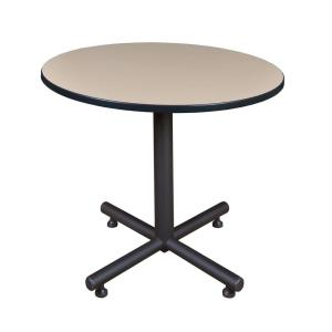 Kobe Beige 36 in. Round Breakroom Table