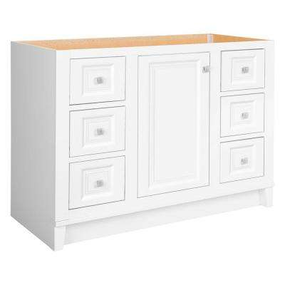 Kinghurst 48 in. W x 21 in. D x 33.5 in. H Bath Vanity Cabinet Only in White