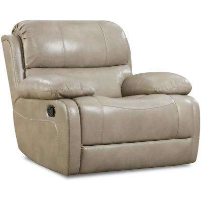 Austin Leather Putty Rocker Recliner