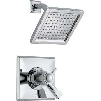 Dryden TempAssure 17T Series 1-Handle Shower Faucet Trim Kit Only in Chrome (Valve Not Included)