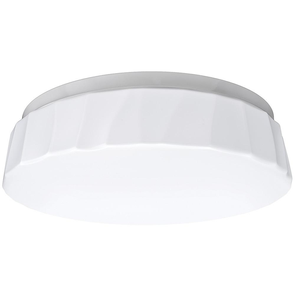 11 in. 64 Watt Equivalent Cliff White Integrated LED Color Temperature