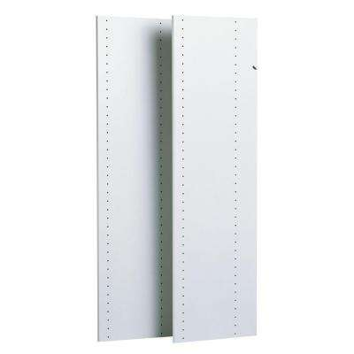 48 in. Classic White Vertical Panels (2-Pack)