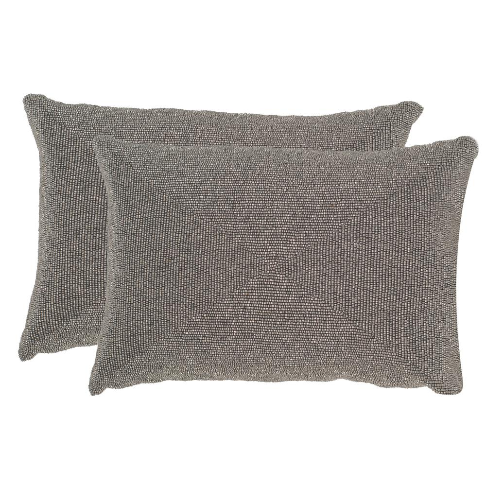 Safavieh Allure Embellished Hand Beaded Pillow 2 Pack