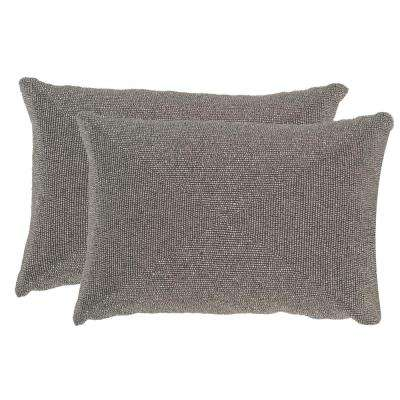 Allure Embellished Hand-Beaded Pillow (2-Pack)