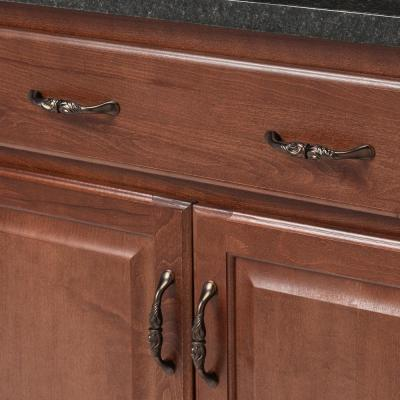 Mayfair 96 mm Center-to-Center Refined Bronze Cabinet Pull