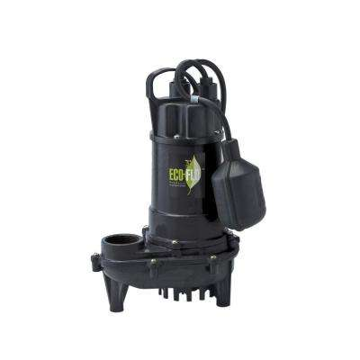 1/3 HP Cast Iron Submersible Sump Pump with Wide Angle Switch