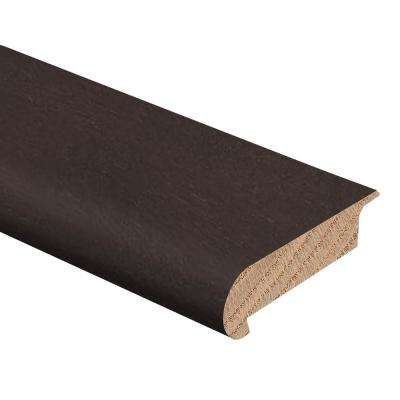 Onyx Acacia 3/8 in. Thick x 2-3/4 in. Wide x 94 in. Length Hardwood Stair Nose Molding Overlap