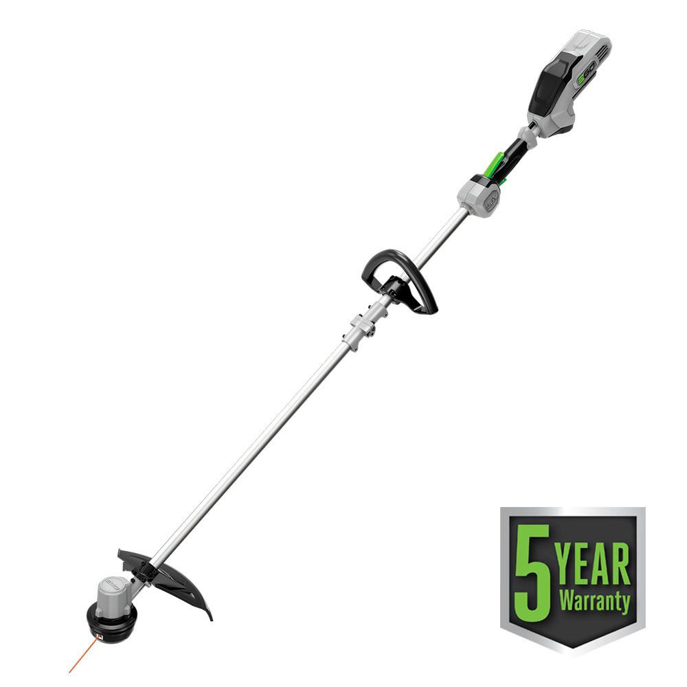 15 in. 56-Volt Lithium-ion Electric Cordless String Trimmer with Rapid Reload