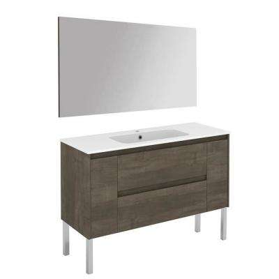 47.5 in. W x 18.1 in. D x 32.9 in. H Complete Bathroom Vanity Unit in Samara Ash with Mirror