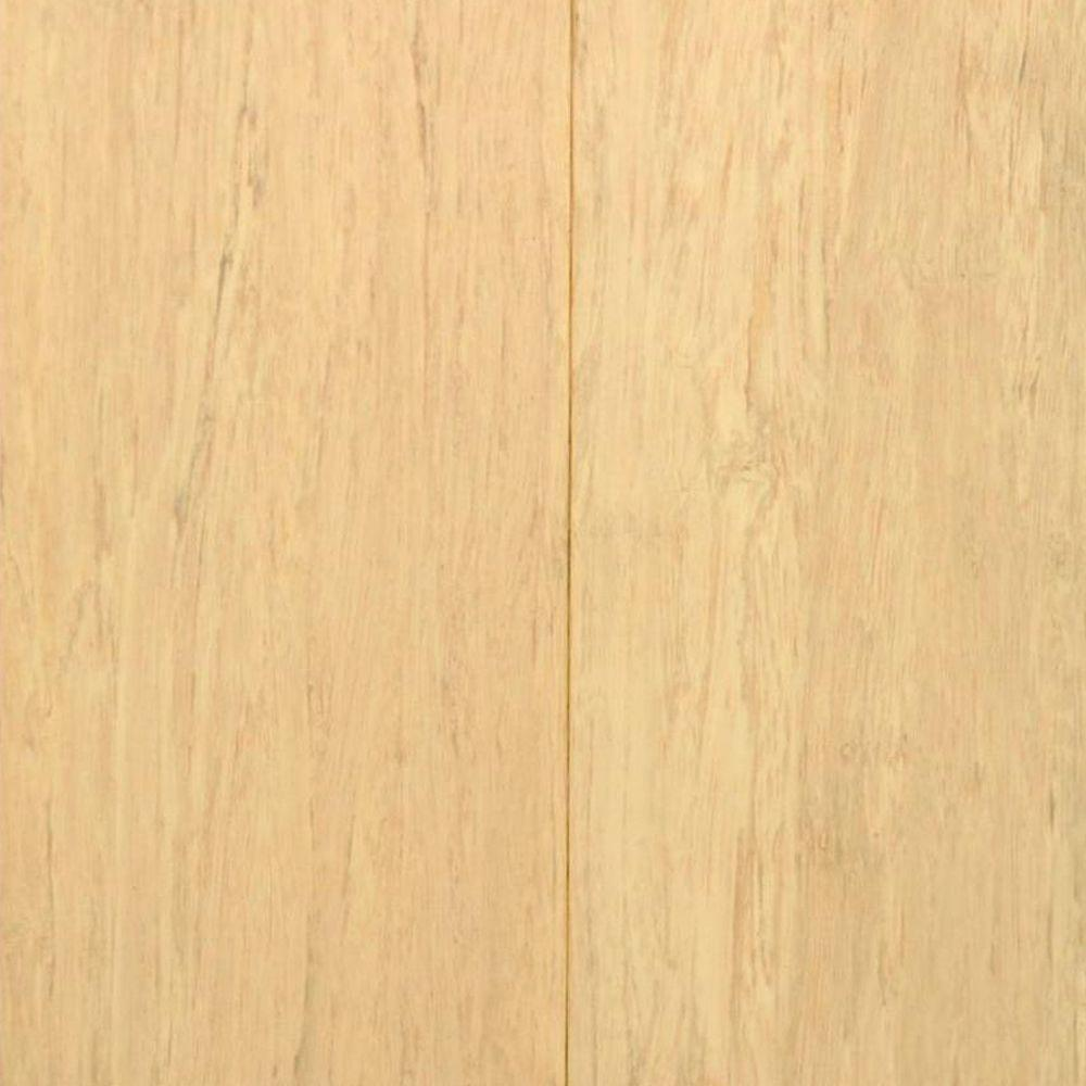 Islander Windswept Ivory 7/16 in. Thick x 3-5/8 in. Wide x Random Length Click Lock Strand Bamboo Flooring (28.75 sq. ft. / case)