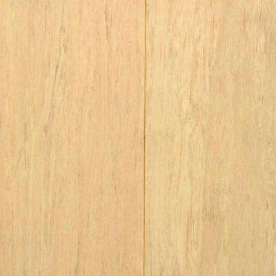 Windswept Ivory 7/16 in. Thick x 3-5/8 in. Wide x Random Length Click Lock Strand Bamboo Flooring (28.75 sq. ft. / case)