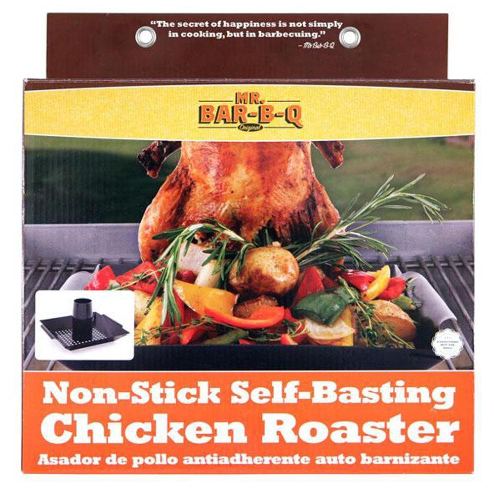 Home Decorators Collection Black Vertical Chicken Roaster