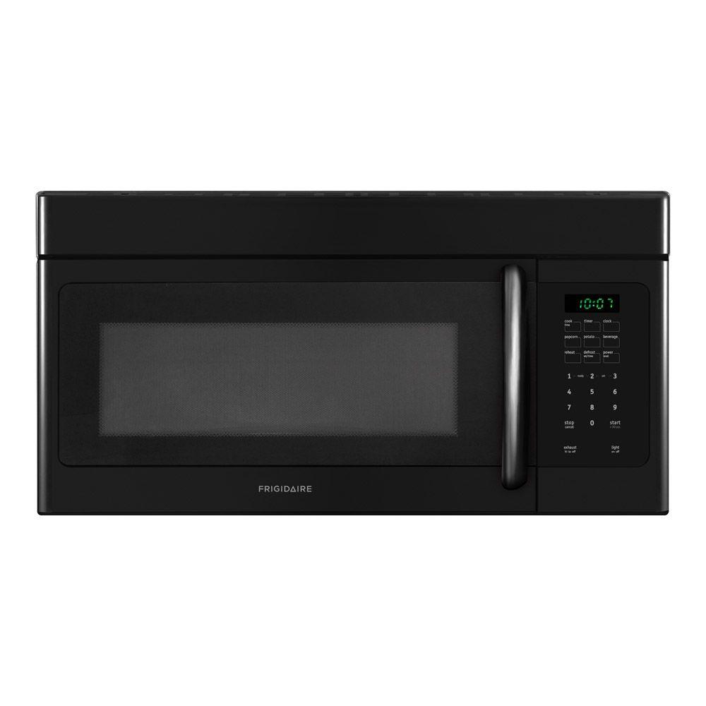 Frigidaire 1.6 cu. ft. Over the Range Microwave in Black