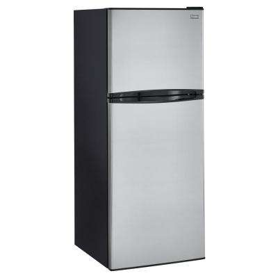 9.8 cu. ft. Top Freezer Refrigerator in Stainless Steel