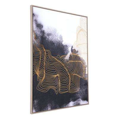 56.7 in. H x 40.9 in. W Furious Printed Canvas Wall Art