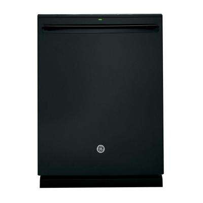Top Control Dishwasher in Black with Stainless Steel Tub and Steam Prewash