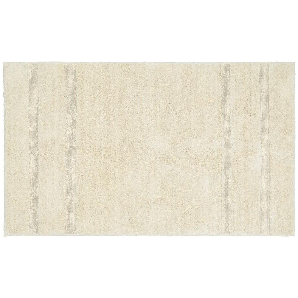 Natural Bathroom Rugs: Garland Rug Majesty Cotton Natural 30 In. X 50 In