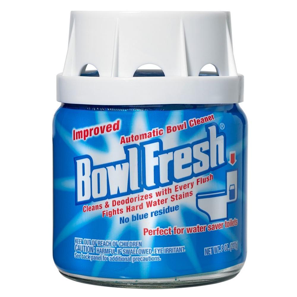 Bowl Fresh 8 oz. Automatic Toilet Bowl Cleaner Jar (6-Pack)