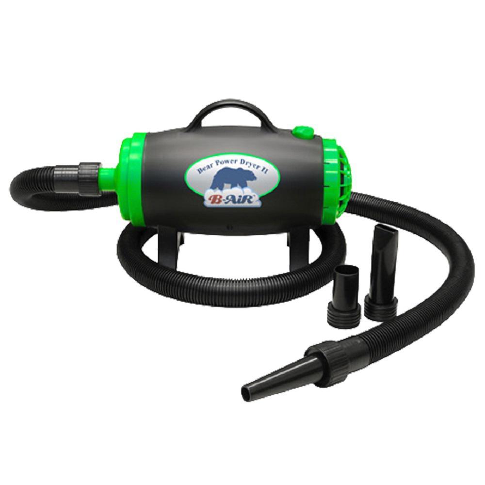 Air Powered Blower : B air bear power high velocity pet groomer dog dryer ba