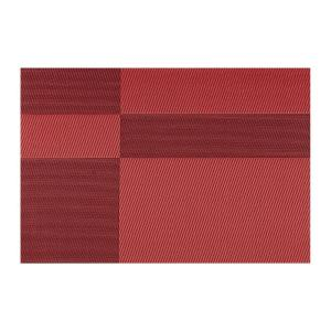 Kraftware EveryTable Red and Black Twill Placemat (Set of 12) by Kraftware