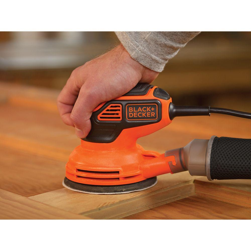 Gift Idea Handy Corded Electric 1.5 Amp Hand Palm Sander Power Tool