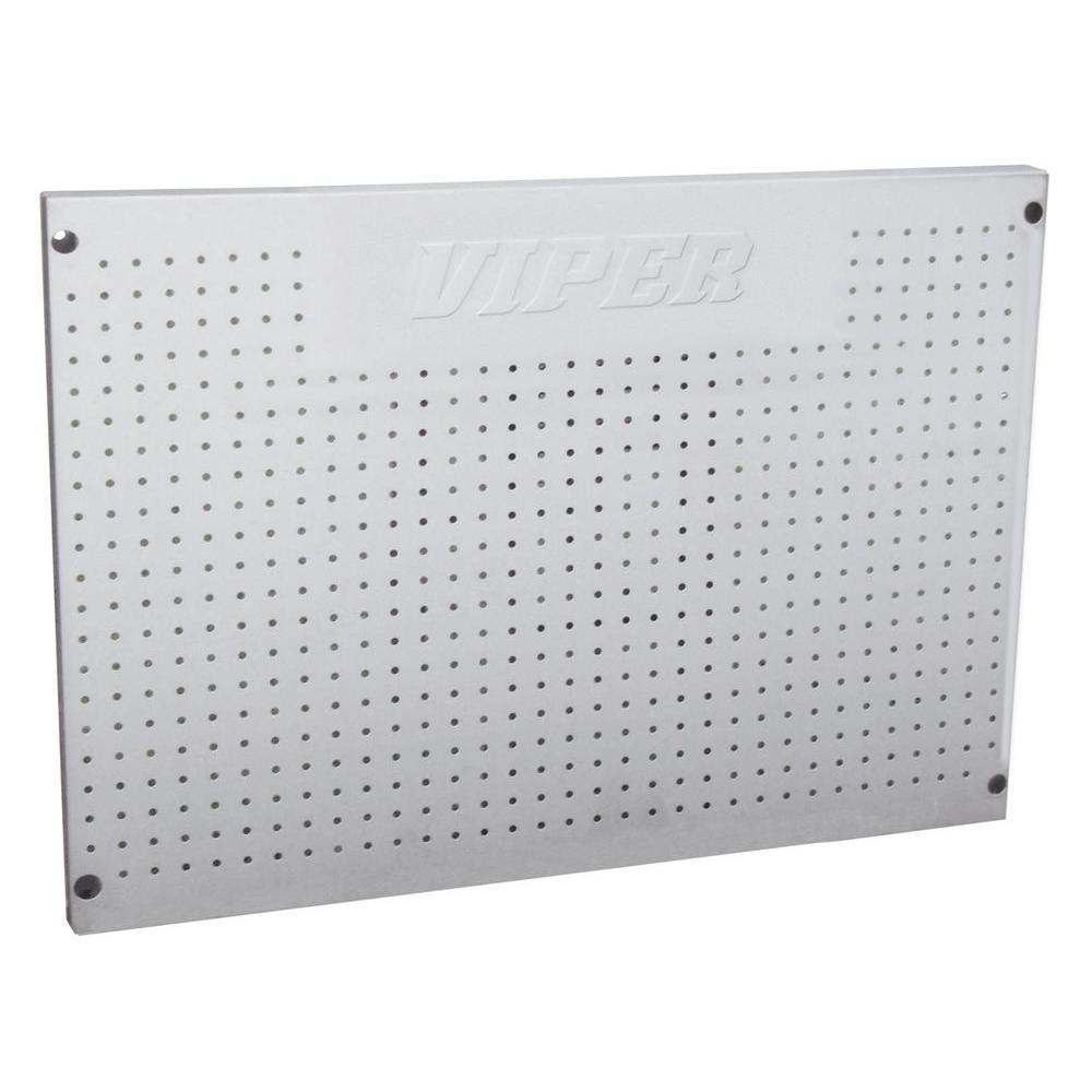 Viper Tool Storage 24 in. x 36 in. Black Steel Peg Board