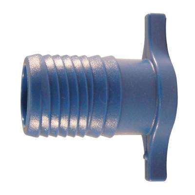 1 in. Blue Twister Polypropylene Insert Plug