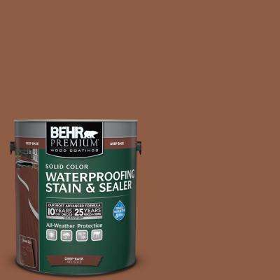 1 gal. #PPU3-18 Artisan Solid Color Waterproofing Exterior Wood Stain and Sealer