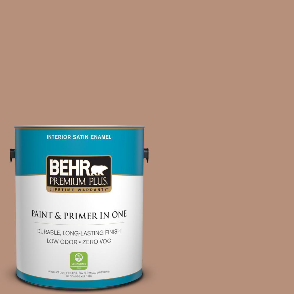 1-gal. #BIC-16 Brandied Pears Satin Enamel Interior Paint