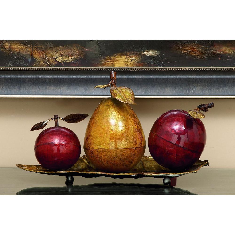 Elegant Fruit Decorative Sculpture by